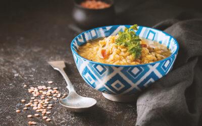 Rozgrzewające zupy na zimę. Zupa z dyni i z soczewicy